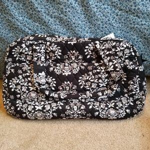 Vera Bradley Chandelier Noir Compact Traveler Bag